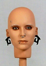 1:6 Custom Head V4 Rooney Mara as Lisbeth Salander from The Girl W/ Dragon Tatoo