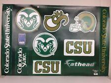 Colorado State University Football Basketball Wall Decals Sticker Fathead