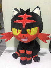 Officail Korea Limited Pokemon Angry LITTEN Plush Doll Toy 2017