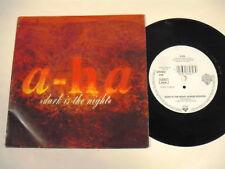 A-HA  Dark Is The Night  SP 7''