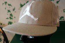 NEW ERA AIR JORDAN RETRO VARSITY GREY/WHITE HAT CAP SIZE 7