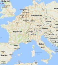 Topo*Deutschland+DACH+Italien+Frankreich*MicroSD Karte*GPS map*Garmin*Geocaching