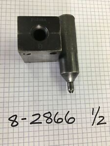 """PARKER 8-2688 1/2"""" VISE BLOCKS WITH FLARING PIN"""