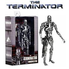 "NECA Terminator Classic T-800 Silver Endoskeleton 7"" PVC Action Figurines Toy"