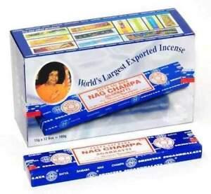 Satya Sai Baba Nag Champa Original Incense Sticks 180g Full Box