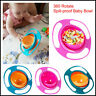 360 ° Gyro Drehen Schüssel Baby Feed Schüssel Teller Teller Anti-Spill Schüssel