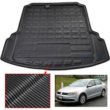 For VW Jetta Mk6 11-18 Sedan Rear Trunk Cargo Mat Boot Liner Floor Carpet Tray