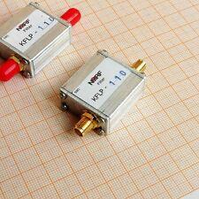 NEW 110MHz FM Transmitter High Power Low Pass Filter, LPF, SMA