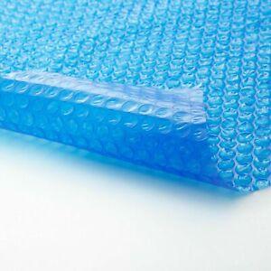 Bâche Bulle Piscine Protection Bleu Etanche Extérieure 2,5 3 3,80 4,5 4,80 5,50M