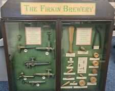 More details for vintage firkin brewery- funnel & firkin display case and contents