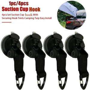 Suction Cup Securing Hook Tie Down camping Tarp As Car Side Awning HookUSB Za