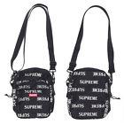 New Supreme REFLECTIVE 3M Backpack Red Box Logo Shoulder Bag Leisure Stud Black