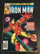 Iron Man#142 Awesome Condition 6.0(1981)1st Space Armor