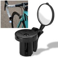 Road Bike Cycling Handlebar Plug Rear View Mirror Bicycle Accessories Adjustable