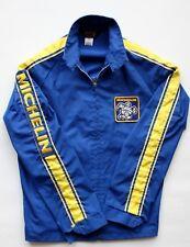 Vintage Michelan Man Jacket race racing jacket nascar Men's Small blue yellow