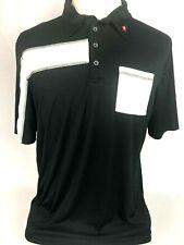 Poker Stars Quagmire Polo Golf Shirt Mens XL PokerStars Black White