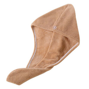Fast Drying Hair Towel Thick Absorbent Shower Hat Long Hair Cap Turban Women