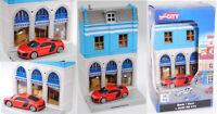 Herpa City / Unifortune RMZ City 800037 Audi R8 V10 5.2 FSI Gebäudesatz mit Bank