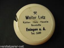 Maßband , Bandmaß Walter Lutz Kohlen Holz Heizöle Baustoffe Eningen u. A.