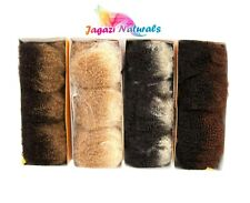 UK: For Dreadlocks wrapping 1 Pack of Super Soft 100% Human Hair Afro Kinky BULK