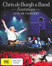 CHRIS DE BURGH - FOOSTEPS : LIVE IN CONCERT DVD ~ ALL REGION NTSC *NEW*