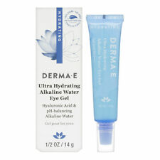 Derma E Ultra Hydrating Alkaline Water Eye Gel 0.5 oz Brand New