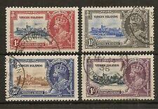 BRITISH VIRGIN ISLANDS 1935 SILVER JUBILEE SG103/6 FINE USED