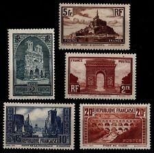 Série PONT DU GARD, Neufs * = Cote 711 €  / Lot Timbres France 258 à 262c