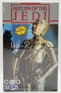 Star Wars ROTJ C-3PO Scale Model Kit 1983 MPC No. 1-1935 Factory Sealed