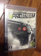 Need for Speed: Pro Street (SONY PLAYSTATION 3 2007) JAPANESE IMPORT