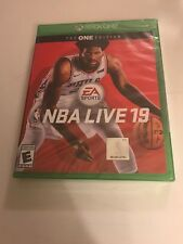 Xbox One - NBA LIVE 19 (The ONE Edition) - New Sealed - XBOX 1 Basketball