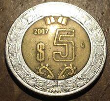 PIECE DE 5 PESOS DU MEXIQUE 2007 (243)
