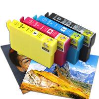 4PK Tinten Patronen EA- 502XL für Epson WorkForce WF-2860 DWF WF-2865 DWF
