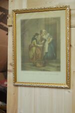 pair of cries of London framed prints