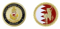 """NAVAL SUPPORT ACTIVITY BAHRAIN CAMEL ANCHOR 1.75"""" CHALLENGE COIN"""