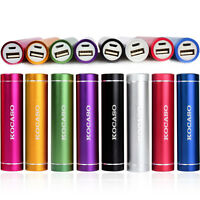 2600mAh USB Portable External Backup Battery Charger Power Bank for Mobile Phone