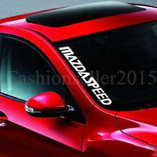 MAZDA SPEED Front Windshield Side Decal Vinyl Car Stickers DIY Window Exterior
