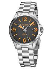 Hamilton Men's Khaki Aviation H76235131 38mm Black Dial SS Automatic Watch