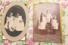 US Black & White Family Photo Album Turn of the Century