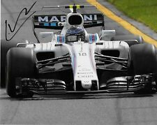 Autographed Williams driver Lance Stroll signed 8x10 Photo Formula 1