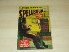 SPELLBOUND #26 EARLY ATLAS SILVER AGE HORROR HIGHER GRADE THE THINGS IN THE BOX!