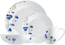 White Garden 16-Piece Dinnerware Set Porcelain Home  Kitchen Plate Dishes Set