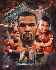 Heavyweight Champion MIKE TYSON Glossy 8x10 Photo Boxing Collage Print Poster
