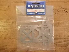 FX-39 Radio Plate - Kyosho 1:8 Scale F1 Series EP (Electric) Versions Formula 1