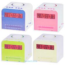 Radiowecker, Radio Wecker, Digitaler Wecker, Schlafzimmer, Kinderzimmer, Uhr