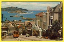 cpsm Etas Unis SAN FRANCISCO the CABLE CAR of Hyde Street TÉLÉPHERIQUE Harbor