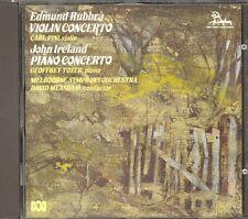 RUBBRA - Violin Concerto / IRELAND - Piano Concerto - Carl PINI / Geoffrey TOZER