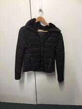 Seed Black Puffer Jacket Size 8