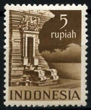 Indonesia 1949-50 SG#569A 5s Chocolate MH Cat £89 #D50974