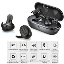 True Wireless Bluetooth Mini Stereo Headphone Earbuds In-ear For iPhone Samsung